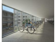 Cykelparkering Brf Viva