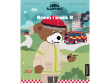 Brann i blokk B er en av tre bøker som utgis av Aschehoug om Brannbamsen Bjørnis høsten 2019.