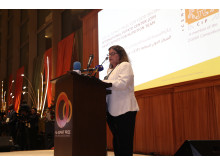 Dr Barbara Wells acceptance speech Al Sumait Prize for African Development Food Security Category