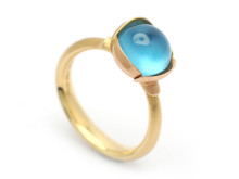 Moderna 9/2, Nr: 223, OLE LYNGGAARD, ring Lotus, 18K rött/rosa guld, design Charlotte Lynggaard.