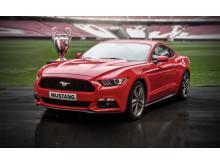 Ford öppnar orderboken till nya Ford Mustang exklusivt under Champions League finalen