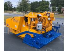 Image - Mastry Engine Center- The Puckett 580 asphalt paver with customized 3TNV88C-DYEM YANMAR Tier 4F engine from YANMAR Mastry Engine Center