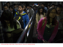 Copyright FutureofCities, Adam Dean, Panos Pictures, China 2014, Beijing Subway_02
