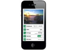 Brightplug mäter strömförbrukning och skickar informationen över Internet så att den kan avläsas i närmsta smartphone.