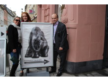 Elephant team visit historic Trier