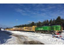 Green Cargo och Domsjö Fiber