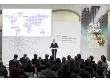 Audis topchef Rupert Stadler ved Audi Urban Future Award Ceremony 2014
