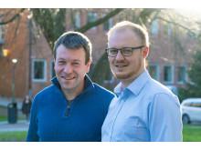 Christian Müller och David Kiefer, Chalmers