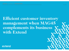 MAG€% complements its business with Extend