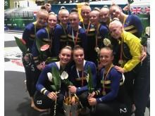 guld JEM truppgymnastik