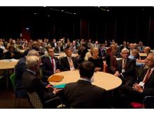 Prins Daniel deltog i de inledande diskussionerna på Digital Health Days