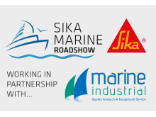 High res image - Sika UK - Sika Marine Roadshow logo