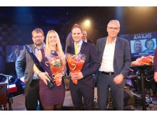 Norconsult tildelt Powels Innovasjonspris 2016_foto Powel - hr