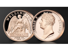 Waterloo campaign medal - both sides
