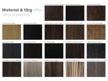 Material & Färgval till Ekstrands tekniska dörrar