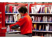 Postnummer er viktig for at pakker og brev skal komme korrekt og raskt fram. Foto: Håvard Jørstad
