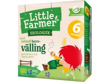 Little farmer mild naturell havre-välling