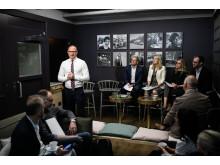 Björn Hellman, lansering av Livsmedelsföretagens hållbarhetsmanifest
