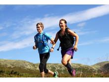 Trail running på Idre Fjäll