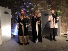 Ingela Karlsson, Maria Nordell Baczynski och Vladimir Dinaski
