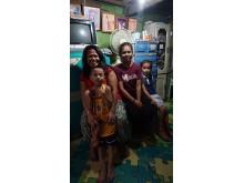 Blivande Civilekonom och hennes familj