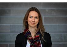 Andrea Ruthes, postdoktoral forskare på KTH. Foto: Peter Ardell.