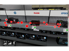 Incontext Virtual Printers Gaze Plot Tobii Image