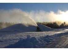Vasaloppets snötillverkning i Oxberg (arkivbild)