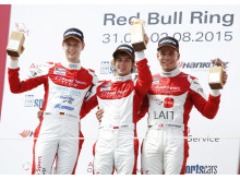Audi Sport TT Cup Spielberg 2015 - Dennis Marschall (D), Jan Kisiel (PL), Nicolaj Møller Madsen (DK)