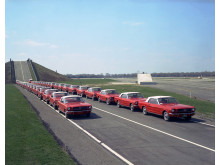 Q4_29,545 miles_1964 Fleet of Mustangs