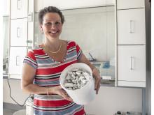 Karin Karlfeldt Fedje forskare på Renova och Chalmers