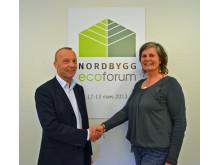 Nytt samarbete mellan Nordbygg och Svensk Byggtjänst