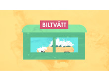 Biltvätten