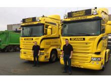 Nye Scania R 450 til Fætrene Andersen