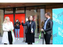 Offisiell åpning, Kringsjå Studentby, Iselin Nybø, Forsknings- og utdanningsminister