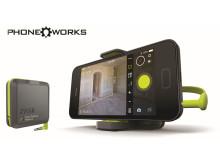 RYOBI® PHONE WORKS™ Forvandler din mobil til dit smarteste værktøj (version: RPW-1000)