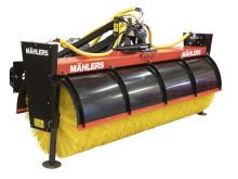 Nyutvecklade sopvalsen SOP-LB2800 premiärvisas av Mählers på årets MaskinExpo, den 23–25 maj.