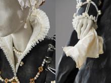 Isabella av Medici - detalj av klänning