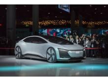 Audi på Volkswagen Group Preview Night – IAA i Frankfurt – konceptbilen Audi AICON