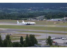 Landing Antonov AN-225