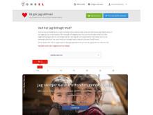 Mitt GodEl - Visualiering av välgörenhetsnytta