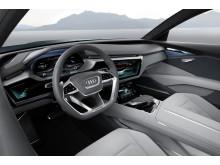 Audi e-tron quattro concept - interior