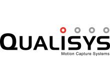 Qualisys logo - white