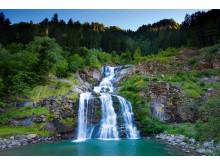 Die Wasserfaelle im Val Piumogna in der Leventina bei Faido-Kanton Tessin