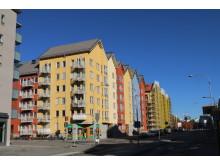 Kapellgärdsallén (Råbyvägen), Uppsala, Riksbyggen