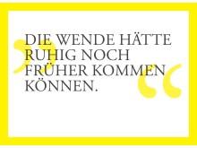 Postkarte zum Lichtfest 2017, Georg, Erzieher, über die Wende