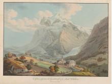 Simon Daniel Lafond_Le Glacier superieur du Grindelwald & Wetterhorn(c)Sammlung Stiftung Familie Fehlmann Winterthur