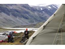 Outdoor Academy of Sweden, Swedish Lapland 2015