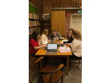 Pilotprojektet Att skriva kulturhistoria på Wikipedia, läsåret 2016/2017 av Nordiska museet och Wikipedia Sverige