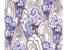 Textile print Rox & Fix by Josef Frank